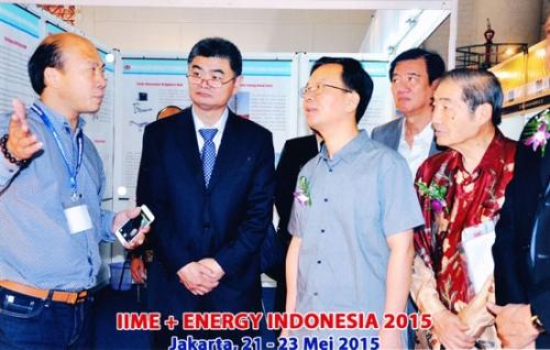 碧松照明走进2015年印尼国际照明展